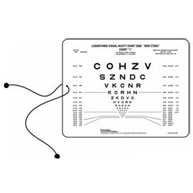 Optotipo de cerca Letras Sueltas